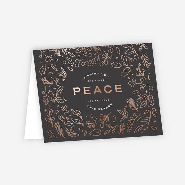 Foil Peace Accents - Gray