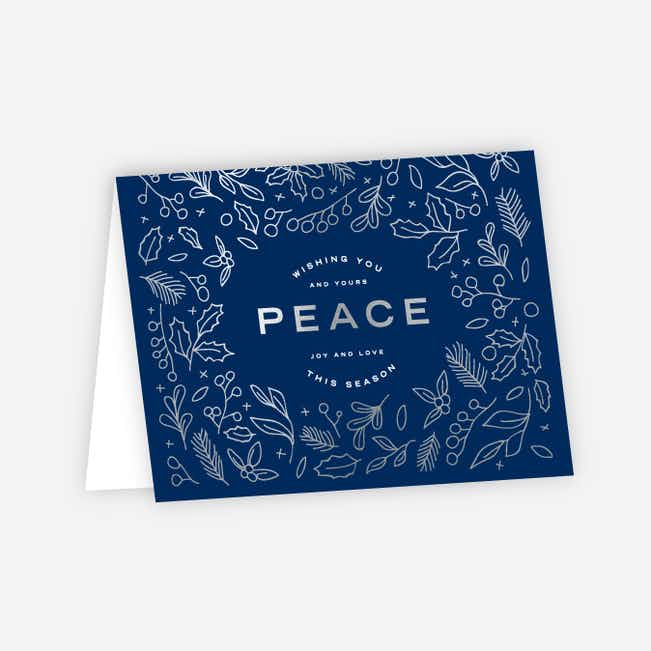Foil Peace Accents - Blue