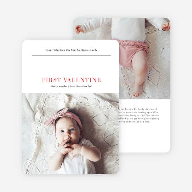 First Valentine - Main