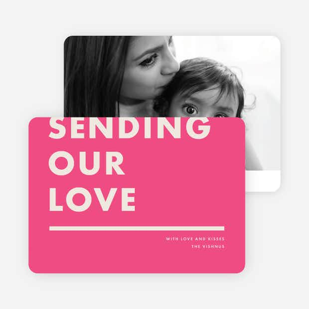 Sending Our Love - Main