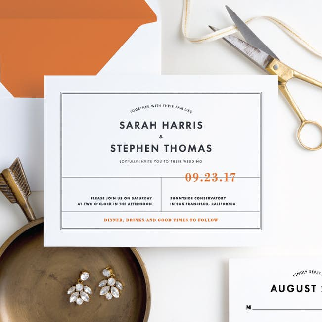 modern and classic wedding invitations paper culture