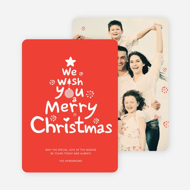 we wish you a merry christmas main - We Wish You Merry Christmas