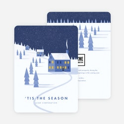 Business holiday cards corporate holiday cards paper culture winter greetings company holiday cards blue colourmoves