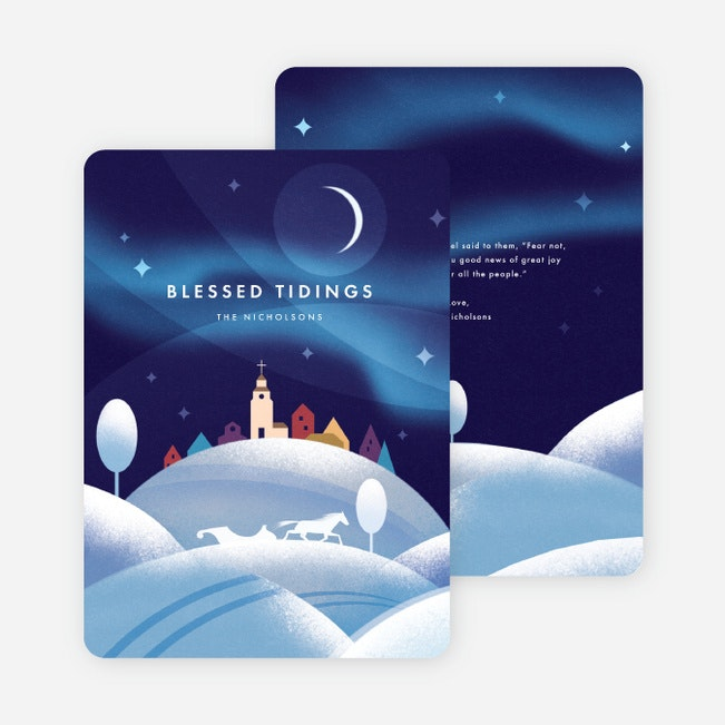 Blessed Life Christmas Cards Paper Culture