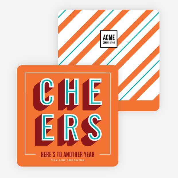 Cheers Recognition - Main