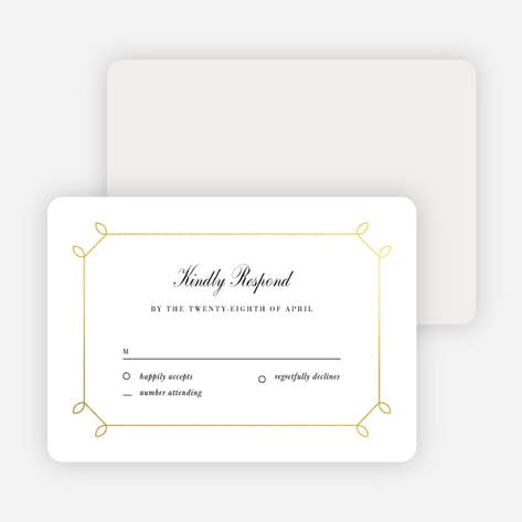 wedding response cards paper culture