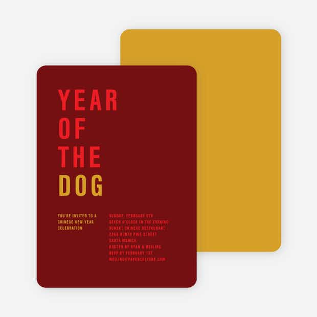Year of the Dog – Storyline - Main