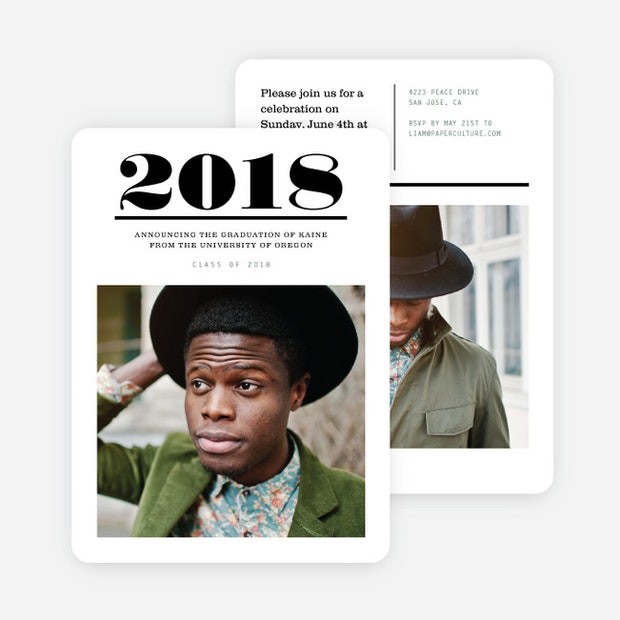 Major headlines graduation invitations paper culture filmwisefo