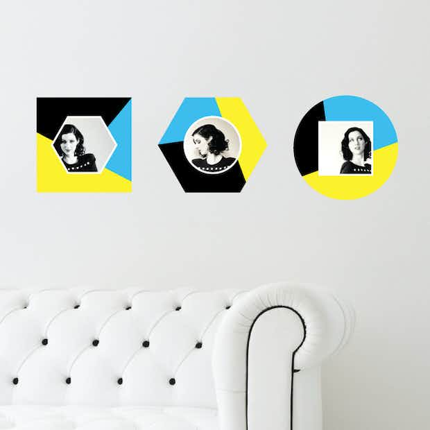 Geometric Color Blocks - Wall Decal
