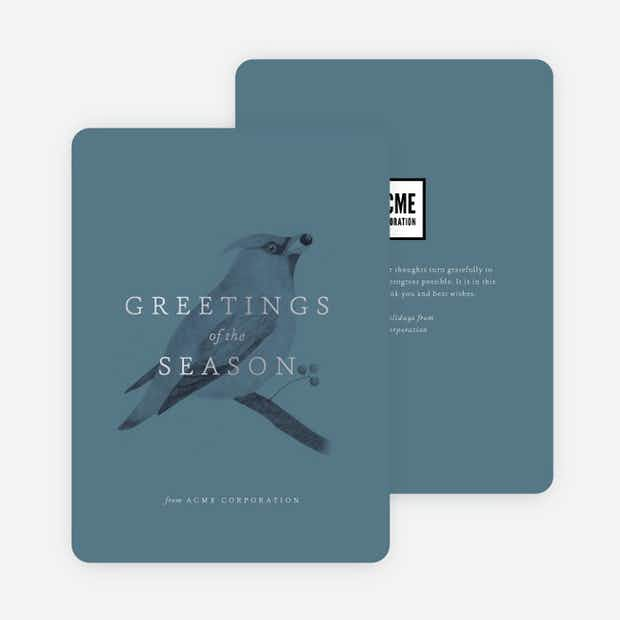 Bird Greetings - Main