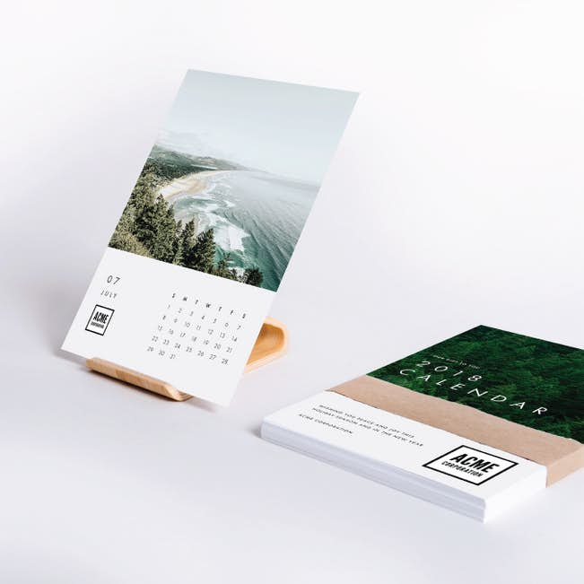 nature s bounty corporate calendar gifts paper culture