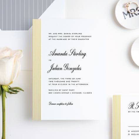 traditional wedding invitations paper culture