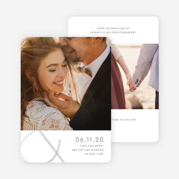 Foil You & Me Wedding - Main