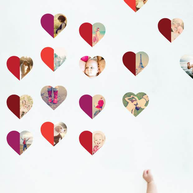 Hearts Abound - Wall Decal