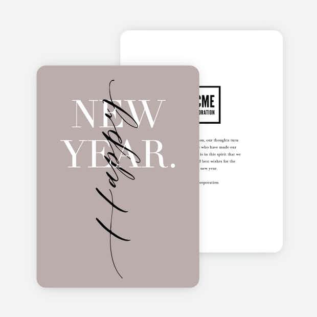 Elegant New Year - Main
