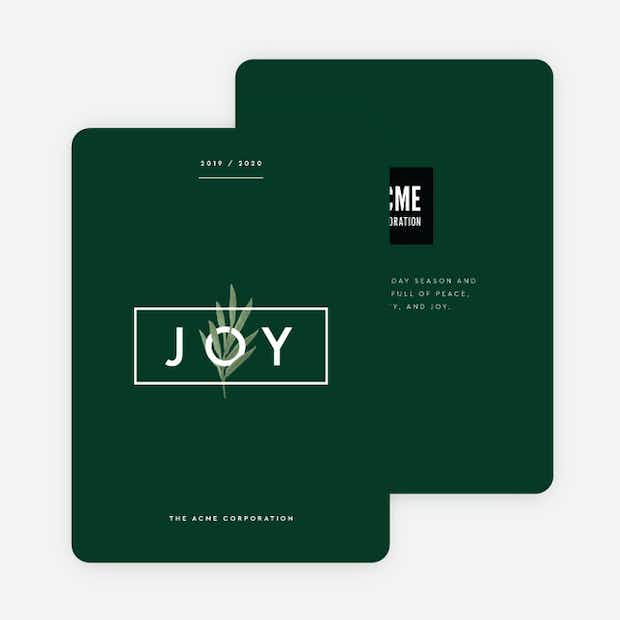 Joy is Evergreen - Main