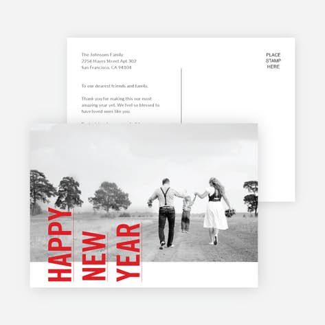 New Year Cards And Invitations Paper Culture