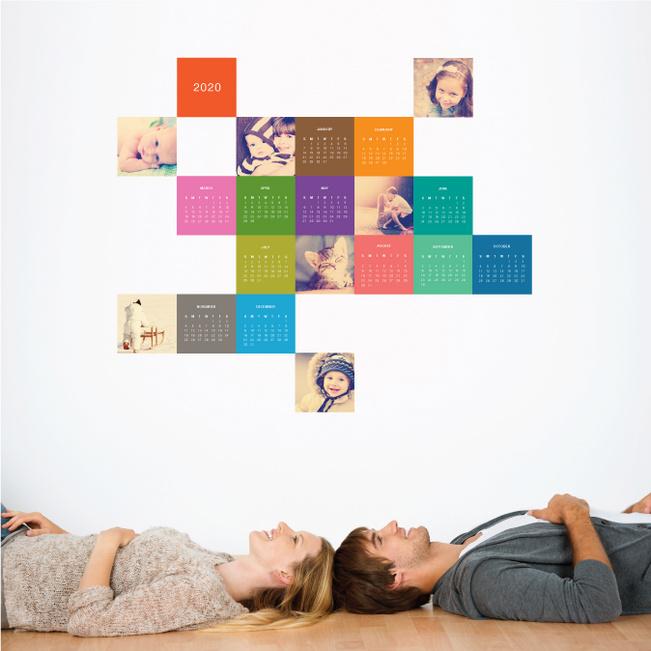 Photo Calendar Wall Decals Paper Culture