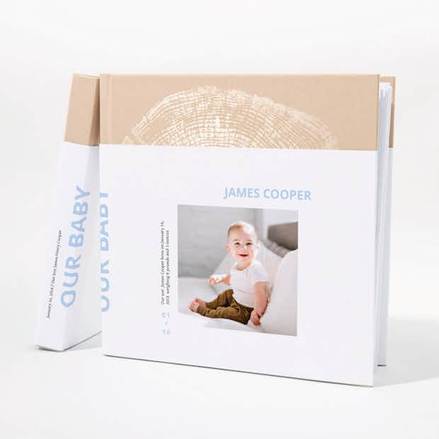 Baby Photo Book: Square - Main
