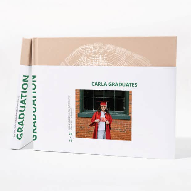 Graduation Photo Book: Rectangle - Main