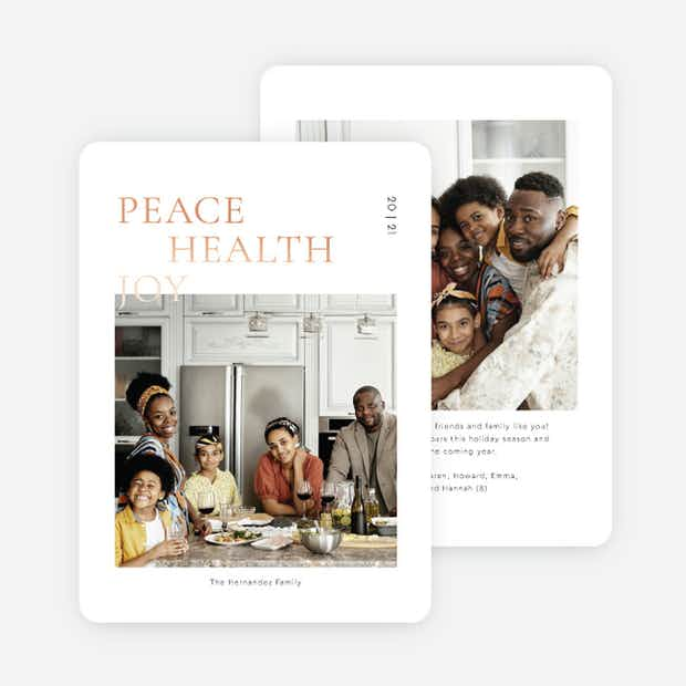 Foil Peaceful Header - Main