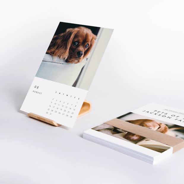Pet Calendars with Stand - Main